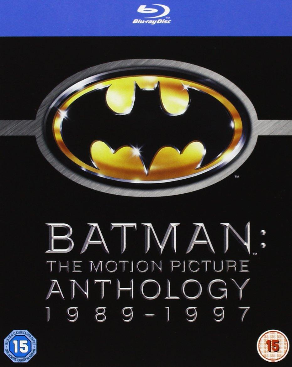 Coffret Blu-Ray Batman - The Motion Picture Anthology 1989-1997 (4 films)