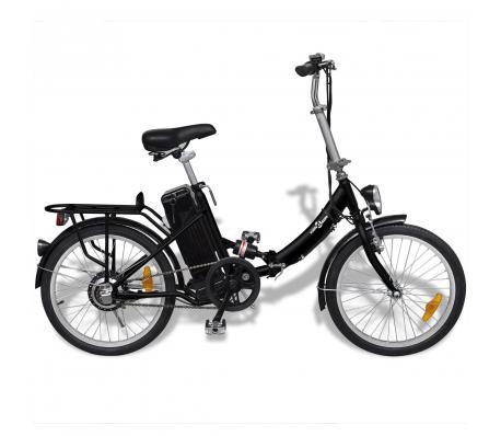 Vélo électrique pliant en alliage d'aluminium et batterie lithium
