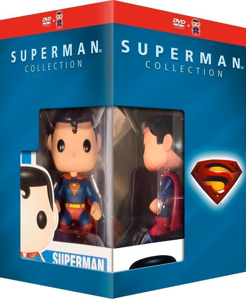 Coffret DVD Superman Collection + Figurine Funko Pop!