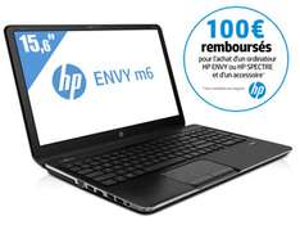HP  Envy M6-1262SF - Ordinateur Portable 15,6'' - Intel Core i5-3230M + Sacoche de transport HP + Mini-souris laser filaire HP [AVEC ODR 100€]