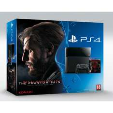 Console Sony PS4 500Go + Metal Gear Solid V : The Phantom Pain