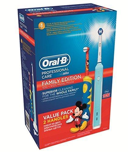 Brosse à Dents électrique Oral-B Professional Care 500 + Mickey D10K