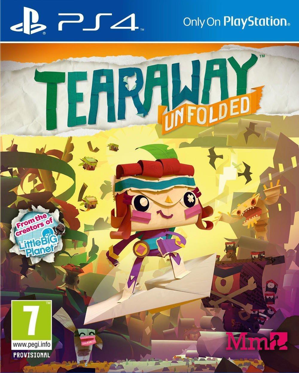 Sélection de Jeux Vidéo en Promo - Ex : Tearaway Unfolded sur PS4