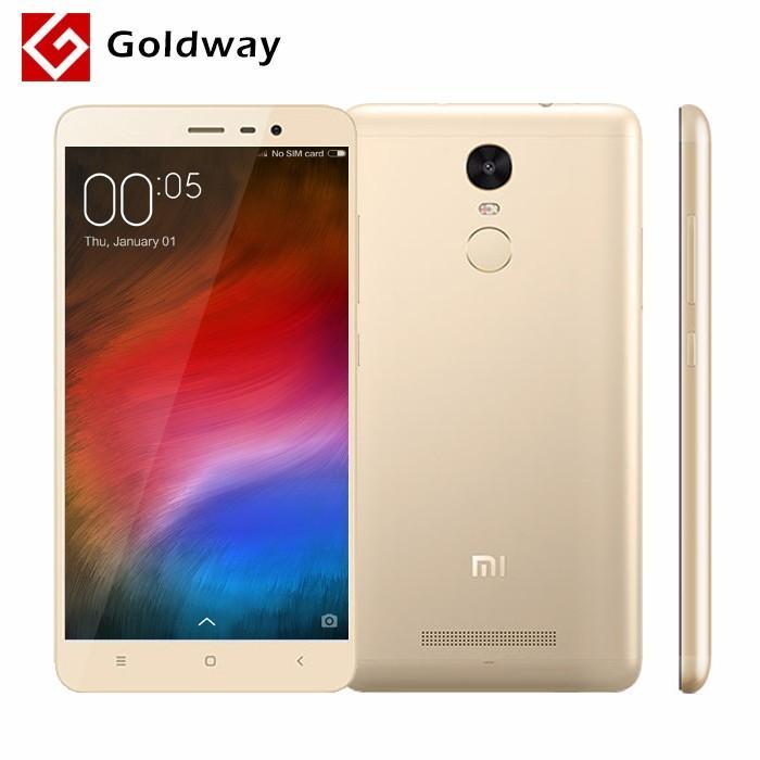 """Smartphone 5.5"""" Xiaomi Redmi Note 3 Pro Prime Gold - Snapdragon 650, ROM 32 Go, RAM 3 Go"""