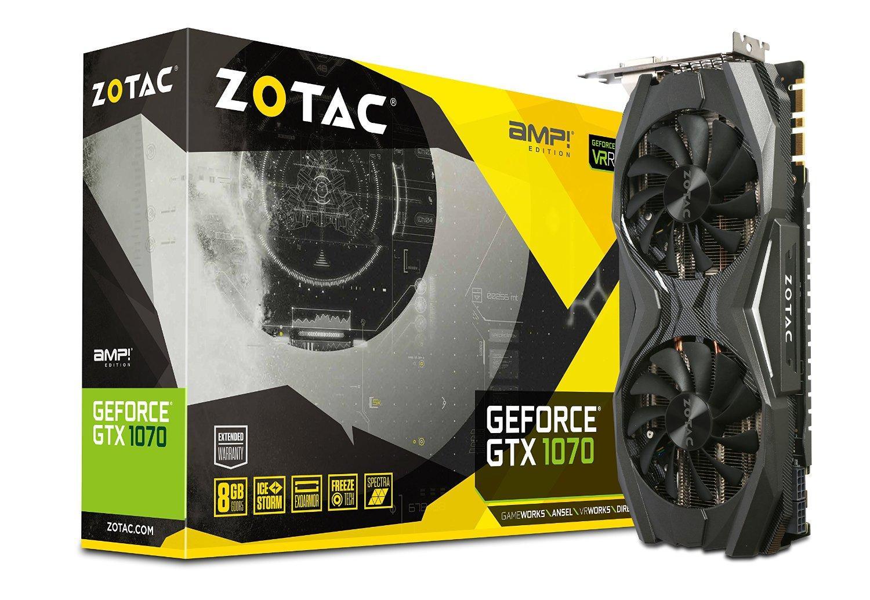 Carte graphique Zotac GeForce GTX 1070 AMP! Edition 8GB GDDR5