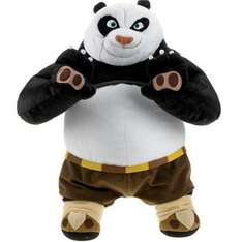 Mattel Po Peluche Kung Fu Panda 38 cm