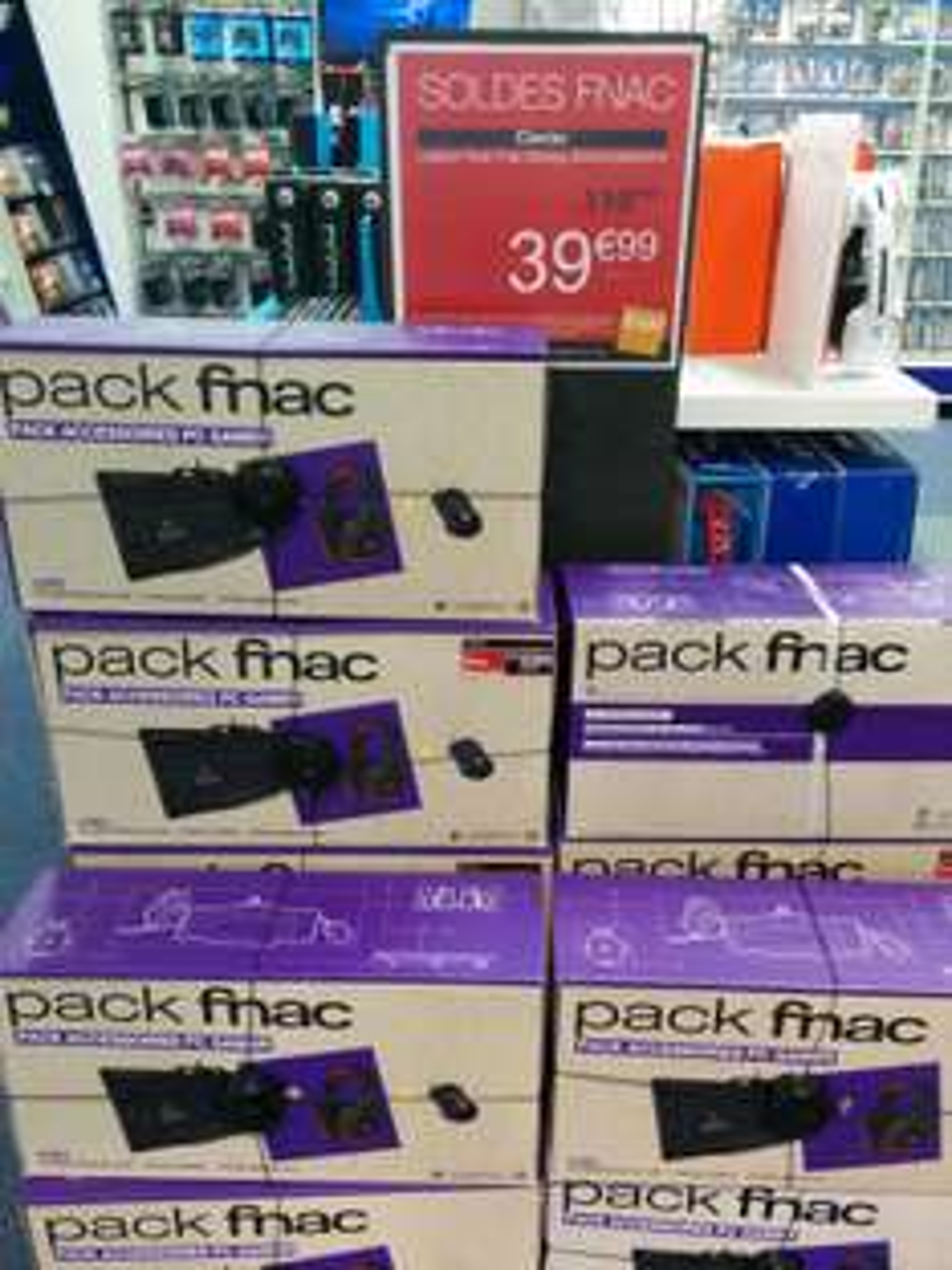 Pack Gaming Logitech : Clavier G105, Casque G230 et Souris G300S