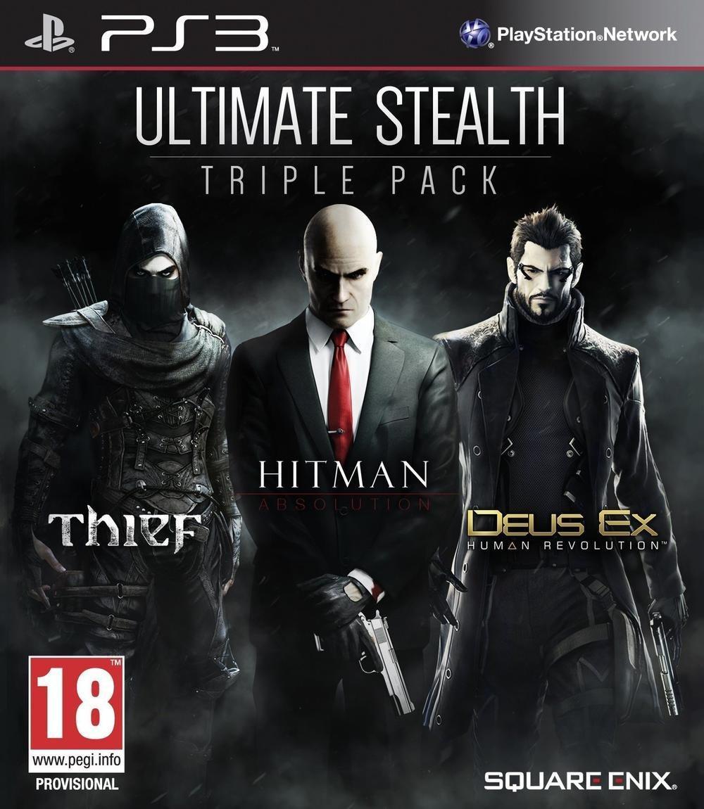 Stealth Pack : Thief + Hitman + Deus Ex - Human Revolution sur PS3