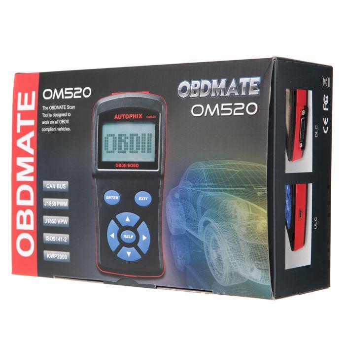 Valise de Diagnostic OBD2 Auto OM520  Autophix