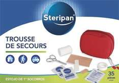 Trousse de premiers secours Steripan - 35 pièces