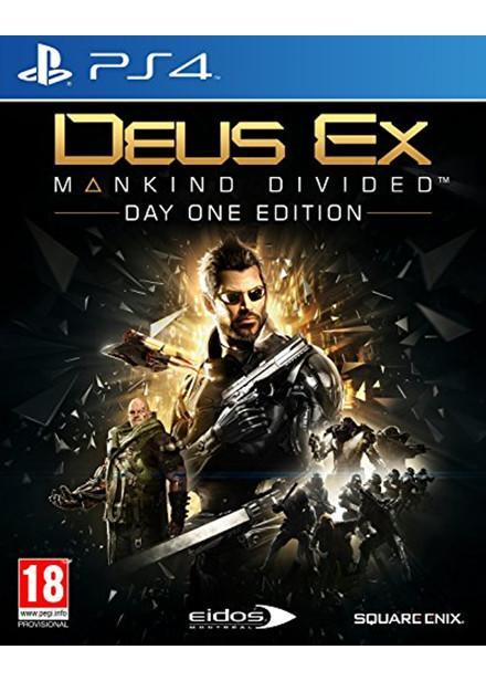 [Précommande] Deus Ex : Mankind Divided - Day One Edition sur PS4 (import UK)