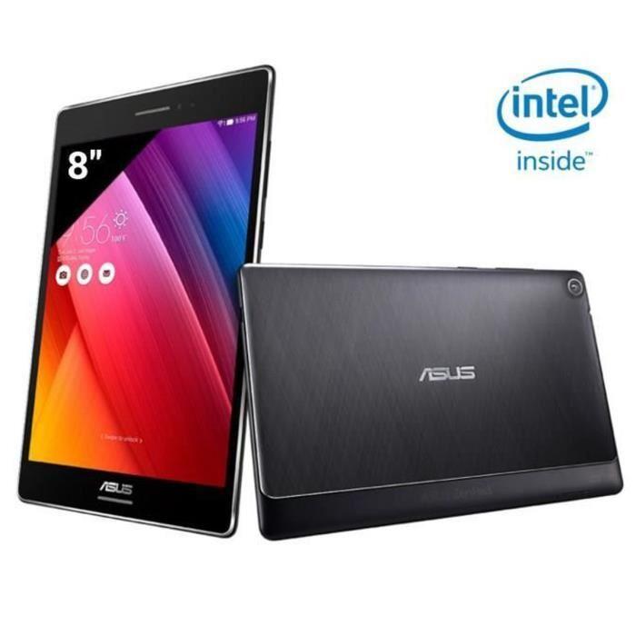 """Tablette 8"""" Asus Zenpad Z580CA-1A042A - Intel Z3560, 2 Go RAM, 32 Go, Android Lollipop 5.0 (+ 79.99€ en 1 bon d'achat)"""