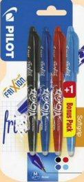 3 lots de 4 stylos Pilot Frixion (via 50% sur la carte + BDR + ODR)