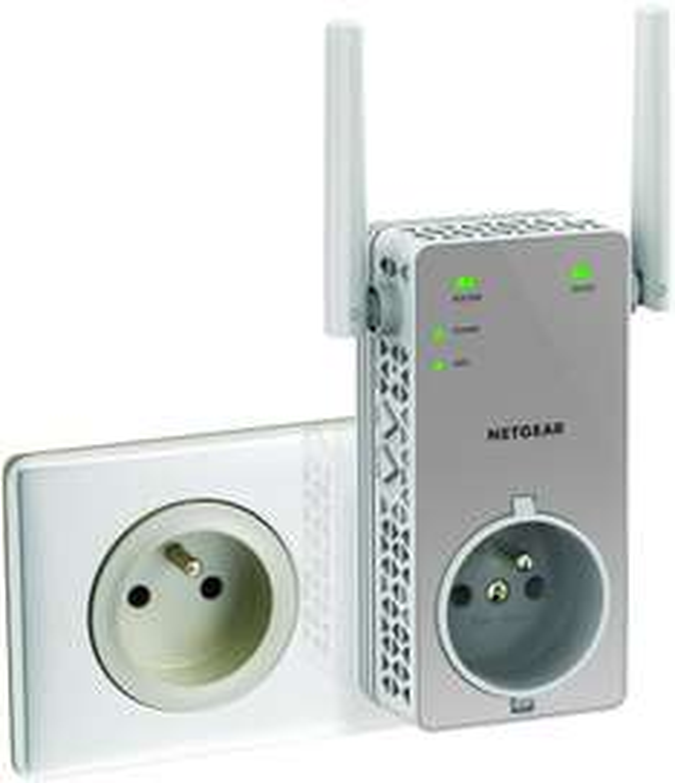Répéteur Wi-Fi Netgear Wifi AC750 (EX3800)