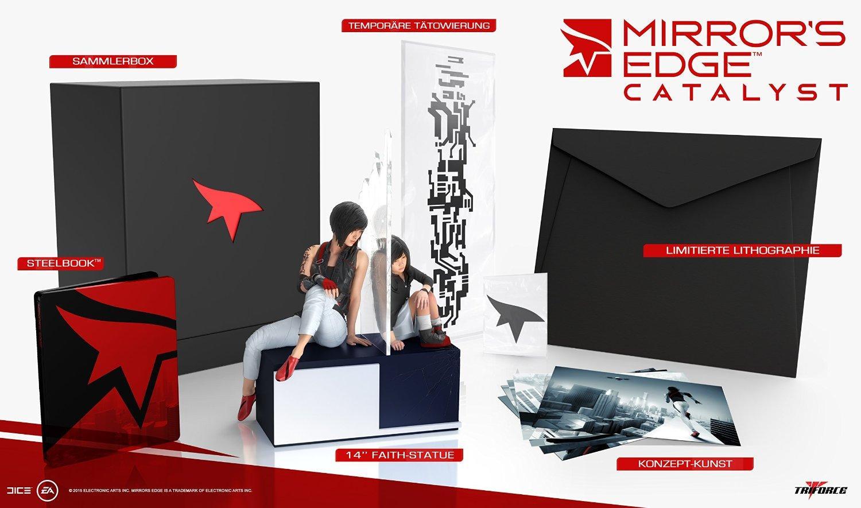 Mirror's Edge: Catalyst – Collector's Edition sur Xbox One