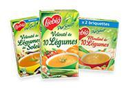 2 packs de 2 briquettes de soupe Liebig 35cl 100% remboursés (via ODR)