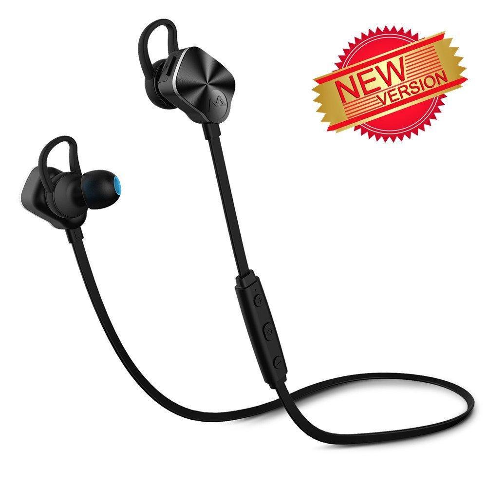 Écouteurs Intra-auriculaires Stéréo Sans-fil Mpow pour le Sport - Bluetooth 4.1, Anti-transpiration
