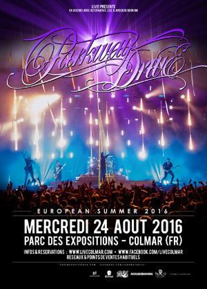 Place de Concert pour Parkway Drive + The Word Alive + Burning Down Alaska le 24 Août 2016 à Colmar