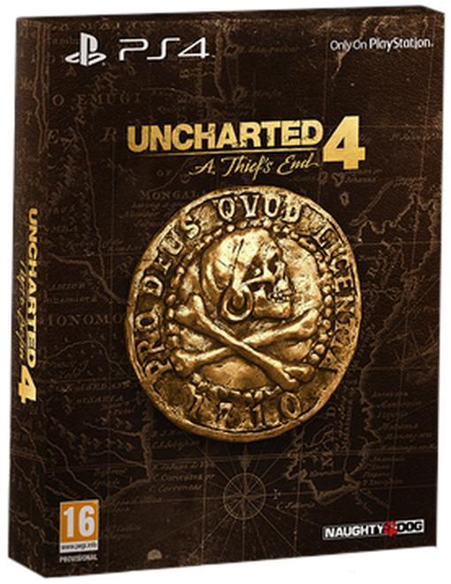 Uncharted 4: A Thief's End - Édition Spéciale sur PS4