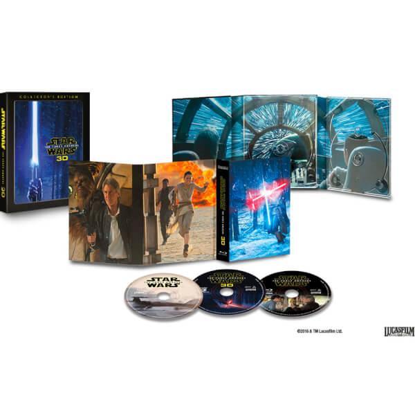 [Précommande] Blu-ray 3D Star Wars 7 Le réveil de la force en édition collector