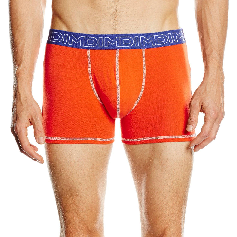 Lot de 2 boxers Dim- Orange (Taille M)
