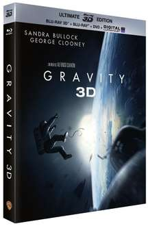 Gravity Ultimate Edition (Blu-Ray 3D + Blu-ray + DVD + Digital Ultraviolet)