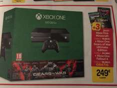 Pack Console Xbox One 500 Go + Gears Of War Ultimate Edition + Fallout 4 + Minecraft
