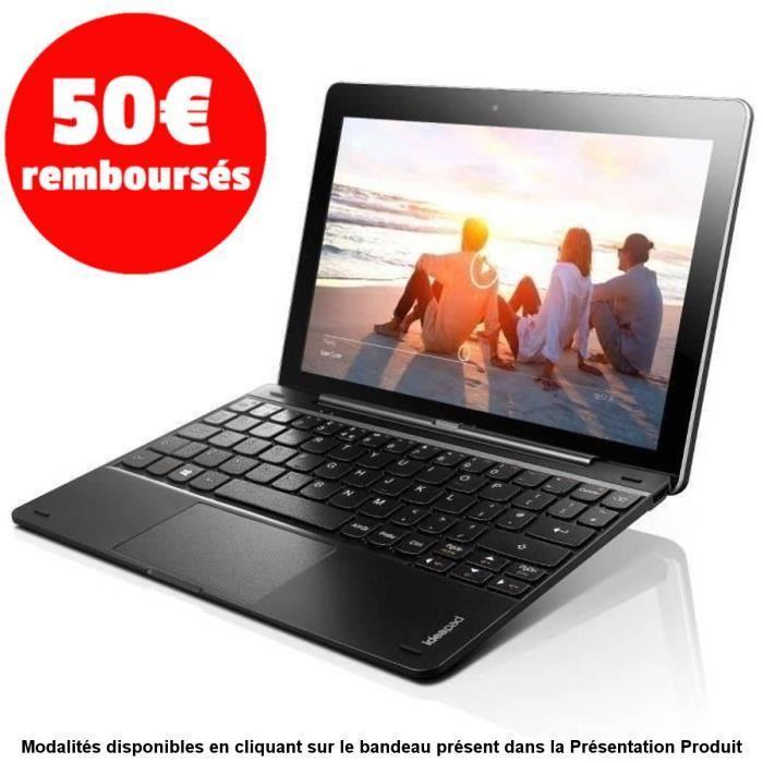 "Tablette 10.1"" Lenovo Miix 300-10IBY (via ODR de 50€) - Intel Atom Z3735F 1.33 GHz, RAM 2 Go"