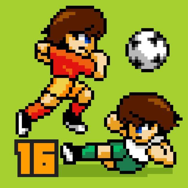 Pixel Cup Soccer 16 gratuit sur iOS (au lieu de 2.99€)