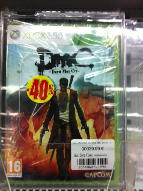 Jeux XBOX 360 en solde : Devil May Cry à 24€, Resident Evil 6 à 18€, Halo 4 à 36€...