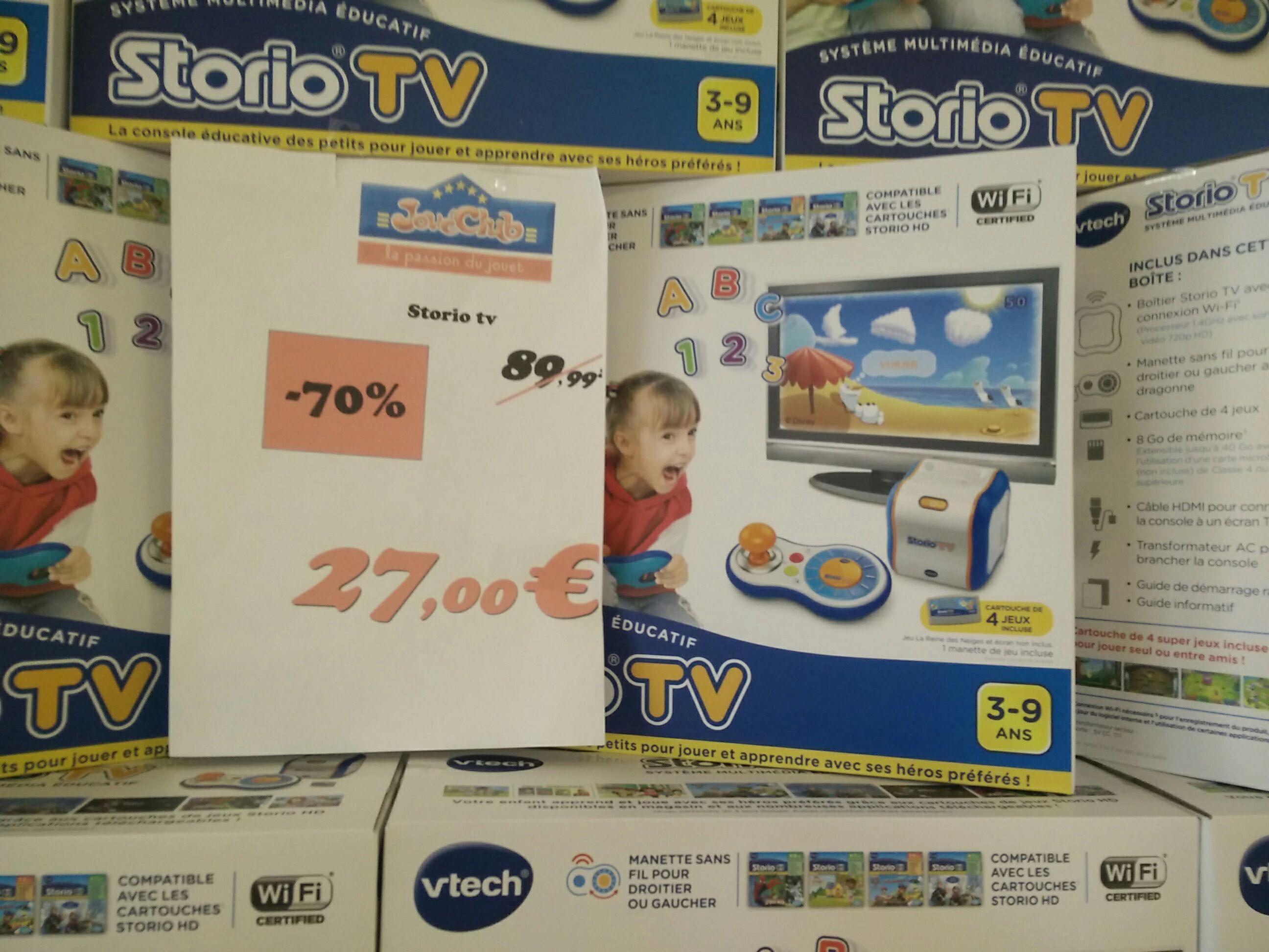 Console éducative Vtech Storio TV