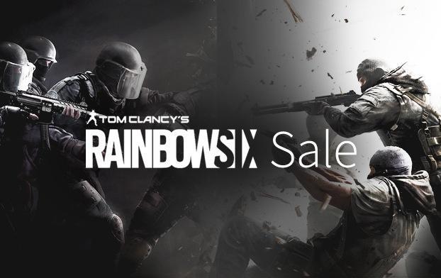 Sélection de jeux Rainbow Six en promo - Ex : Rainbow Six Siege sur PC (Dématérialisé - Uplay)