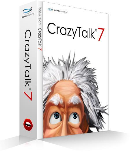 Logiciel d'animation faciale CrazyTalk7 Standard gratuit (Windows ou Mac)