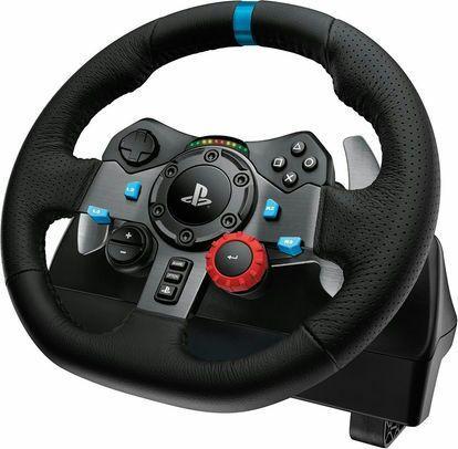 Volant de course LogitechG29 Driving Force pour PC et PS4 - G-Seriesà
