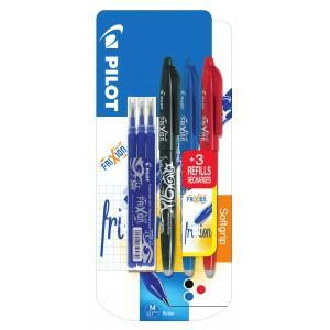 Sélection d'articles en promotion avec la carte Carrefour - Ex : Lot de 3 Stylos Pilot Frixion Ball (via 2,75€ sur la carte)