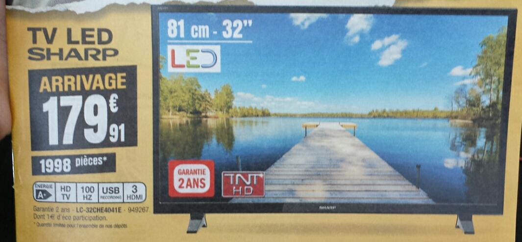 """TV 32"""" Sharp LC-32CHE4041E - LED, HD"""