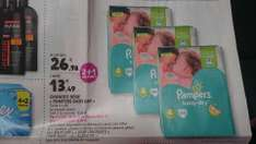 3 packs de 44 couches Pampers Baby Dry - Taille 4 (via BDR)
