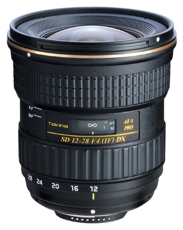 Sélection d'Objectifs pour Appareils Photo - Ex: Pro DX Tokina AT-X 1228 pour Nikkon (12-28 mm)