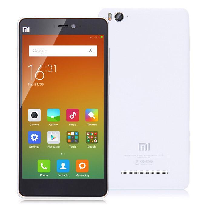 "Smartphone 5"" Xiaomi Mi4C - FHD, Snapdragon 808, 2 Go de RAM, 16 Go, blanc"