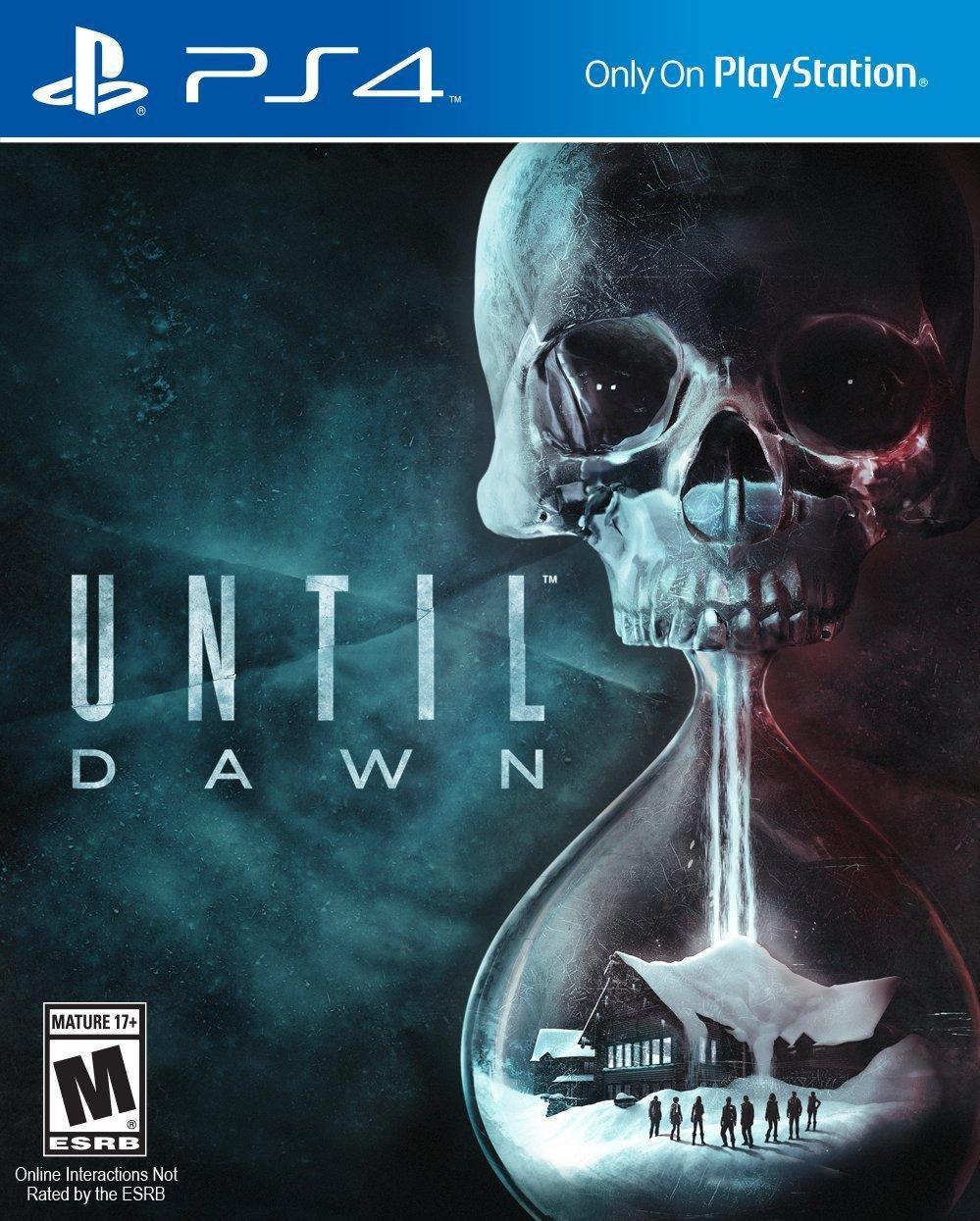 Until Dawn sur PS4 (physique)