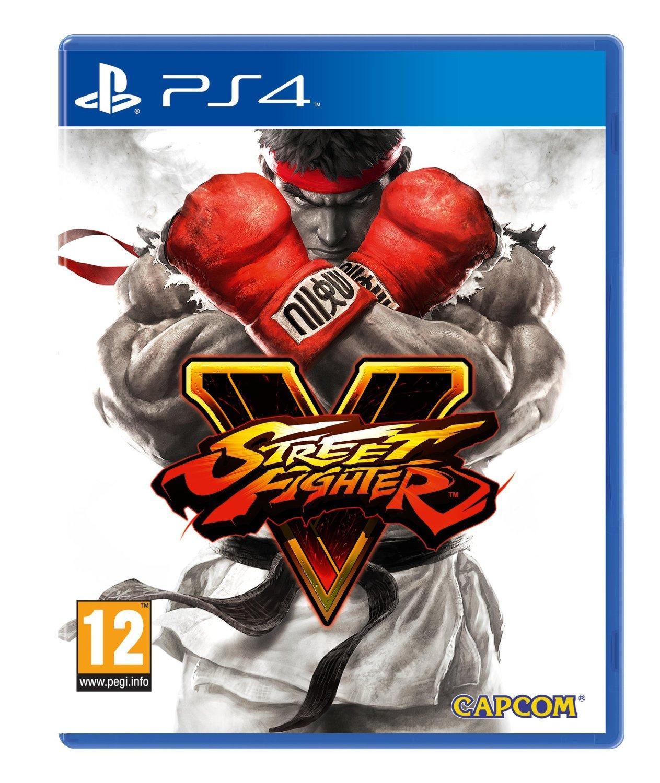 Street Fighter V sur PS4 (dématérialisé)