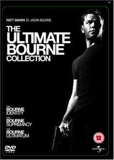 The Ultimate Bourne Collection DVD (Seulement en anglais)