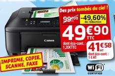 Imprimante  jet d'encre Multifonction Canon MX535 4 en 1