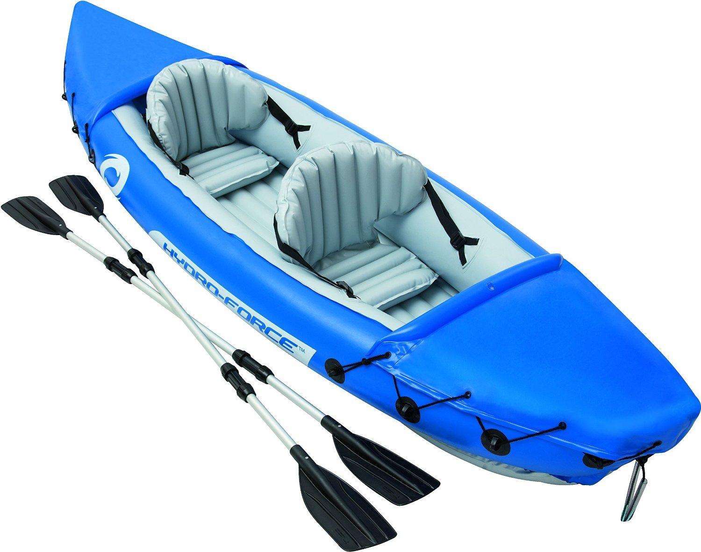 Kayak gonflable 2 places Bestway Hydroforce Lite-Rapid - 321 x 88 cm + 2 pagaies