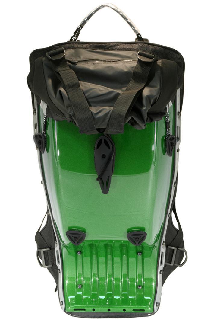 Sac à dos Moto Boblbee Megalopolis Aero Vert - Dorsale niveau 2