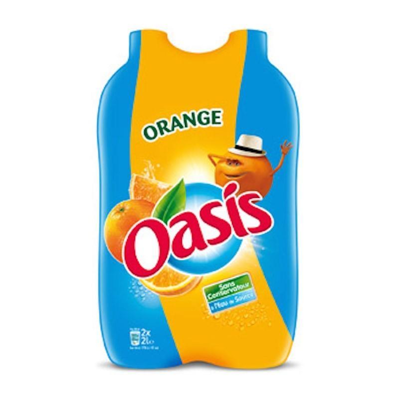 6 pack d'Oasis - différents parfums (2 x 2 L) soit 24 Litres