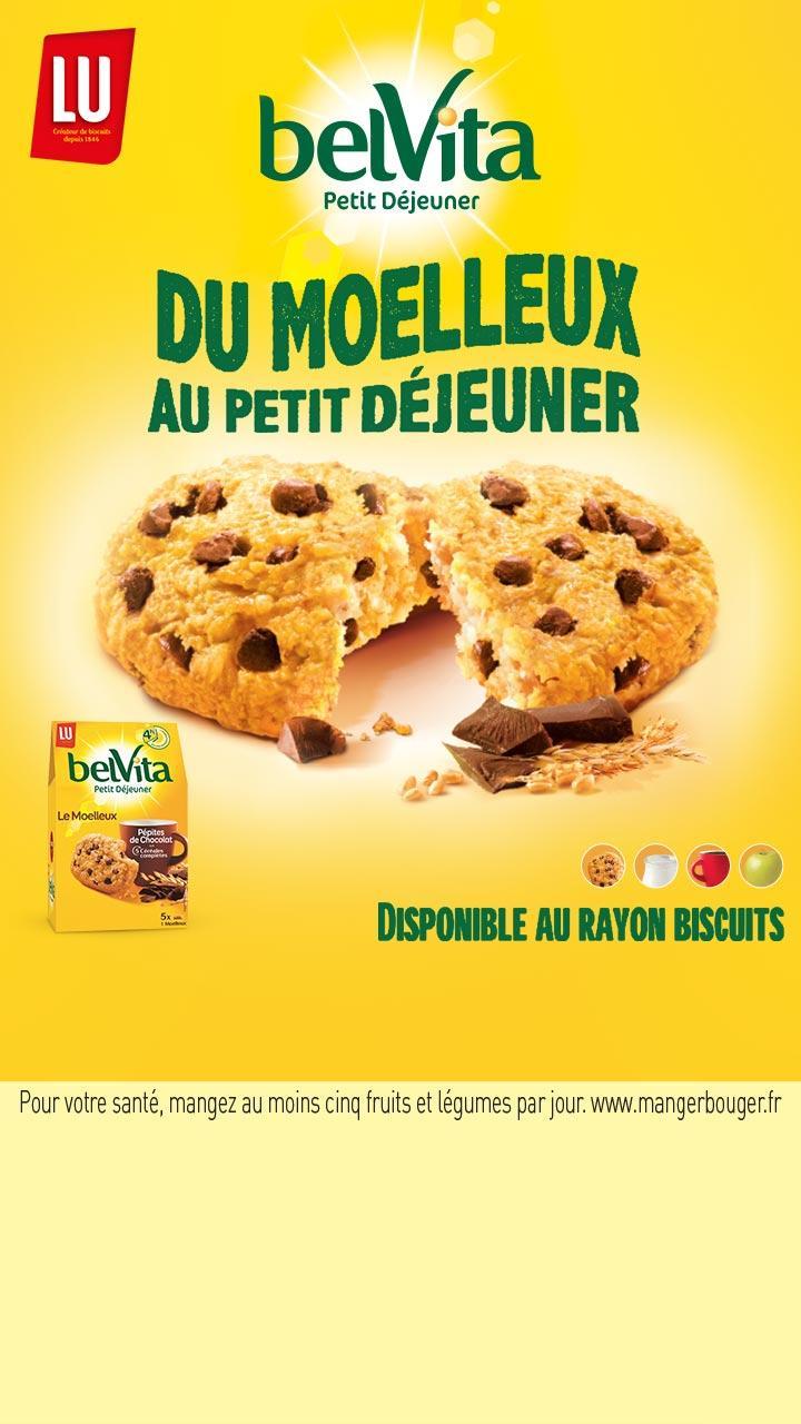 Jusqu'à 50% remboursés sur toute la gamme BelVita via shopmium  - Ex :  Lot de 4 paquets de biscuits moelleux nature BelVita