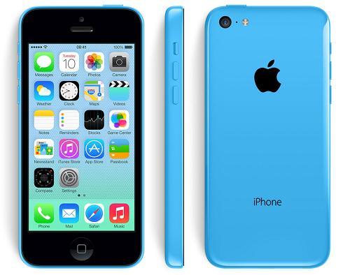 """Smartphone 4"""" Apple iPhone 5C - 16 Go, Reconditionné + 92€ en bon d'achat"""