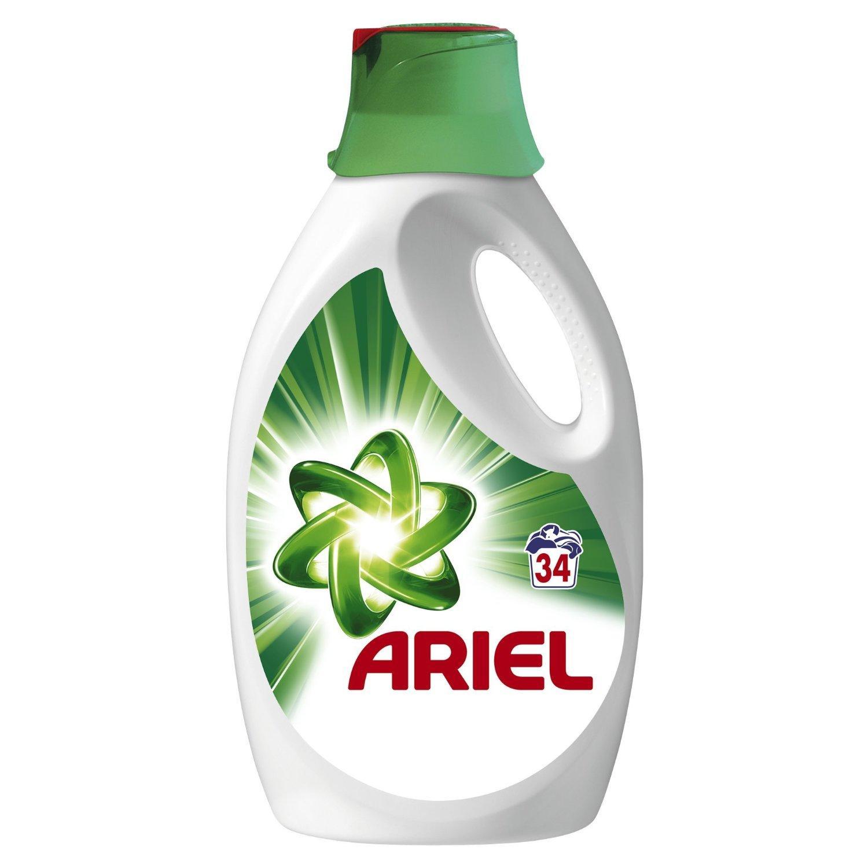 Lot de 2 Bidons Ariel Lessive Liquide 2210Ml