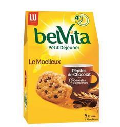 Lot de 2 Paquets de Petit Déjeuner Le Moelleux belVita - 2 x 500g (via BDR + Shopmium)